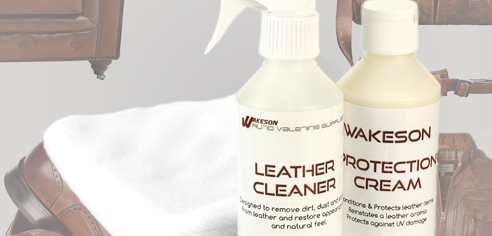 Leather Care and Protection Kit
