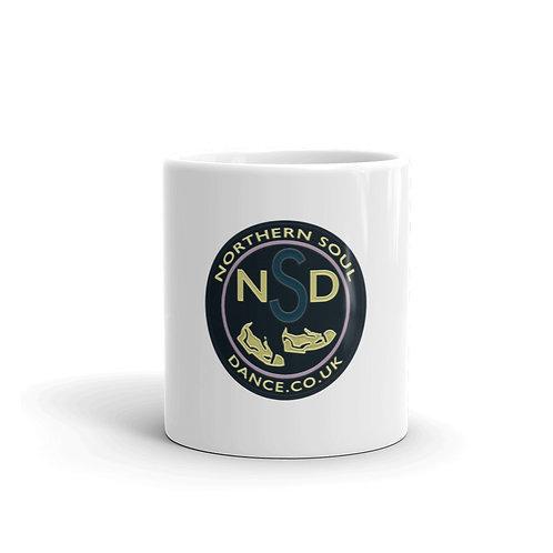 Northern Soul Dance Logo Ceramic Mug