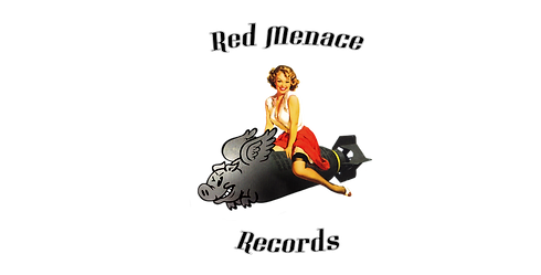 Red Menace Records artwork and   text.pn