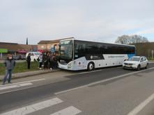 19/03: Réalisation d'un test pour modification de l'arrêt de bus
