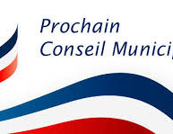 07/05: Réunion du Conseil Municipal