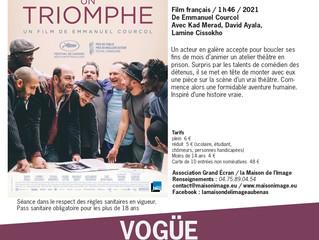 01/10 à 20h30 : Projection de film à Vogüé - Salle Calabert du Domaine Lou Capitelle