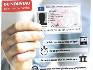 Nouvelle procédure permis de conduire et cartes grises