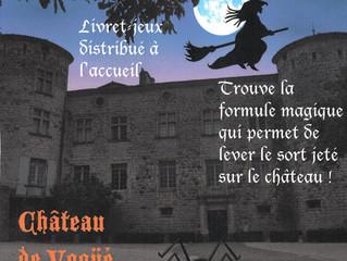 Halloween au Château de Vogüé du 23 octobre au 05 novembre 2021