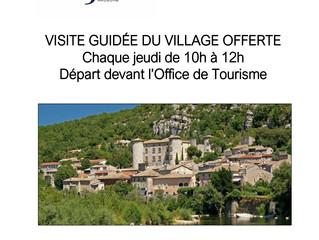 Visites guidées du Village