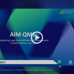 Video Catchup of our IFAIMA Presentation