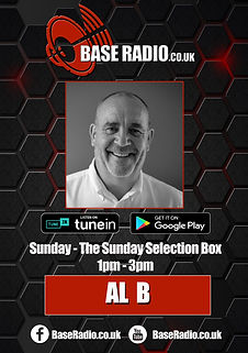 Al B soul on sunday base radio baseradio.co.uk Bristol radio