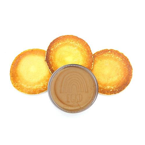 Light Tan (Flapjacks) Half Pound KidDough Single