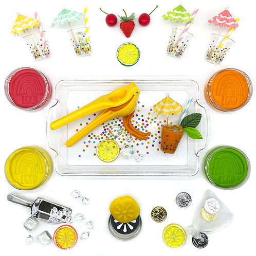 Lemonade Play Set (Dough and Themed Play Pieces)