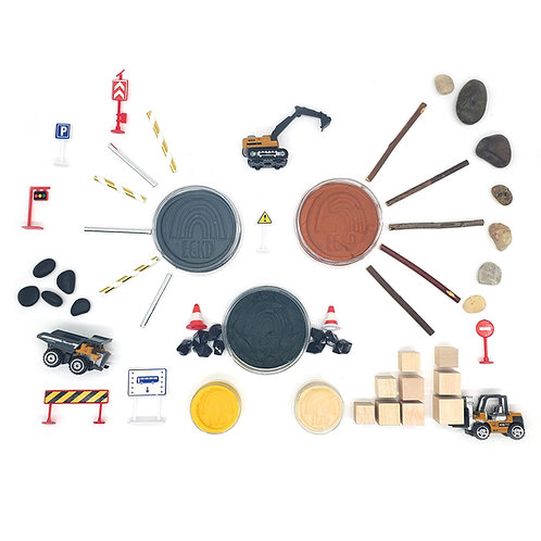 Construction Playscape (Dough and Themed Play Kit)