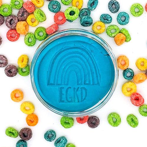 Turquoise (Fruit Loop Frenzy) Half Pound KidDough Single