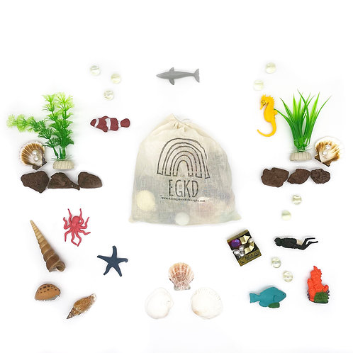 Deep Sea Exploration Play Pieces  (Play Pieces Only)