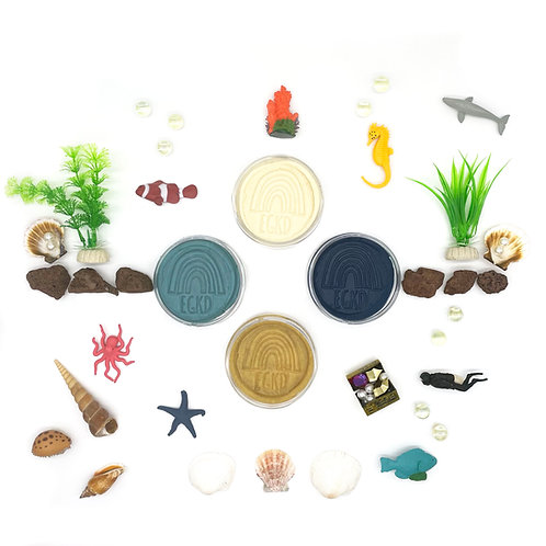 Deep Sea Exploration Play Set (Dough and Themed Play Pieces)