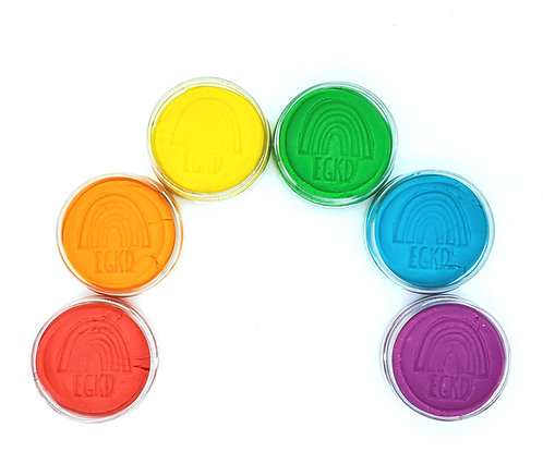 Rainbow Set KidDough (Jars)