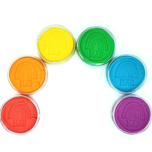 Rainbow Set KidDough (Jars)