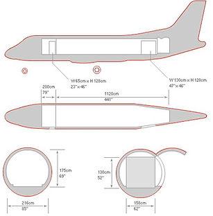Saab 340 Схема