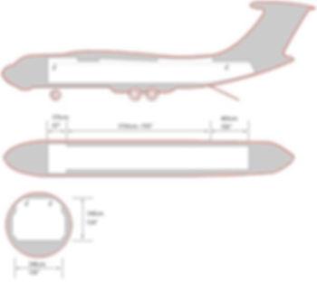 ИЛ 76 Схема