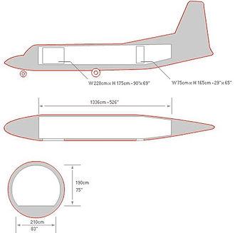 Fokker 27 Схема