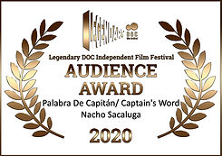 Audience Award Legendary Doc Fest 2020.0