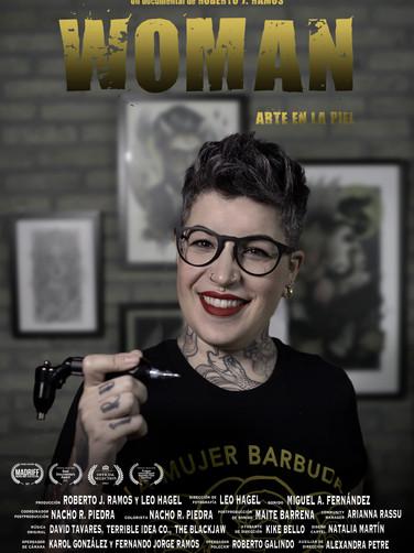 Woman: Art in the skin