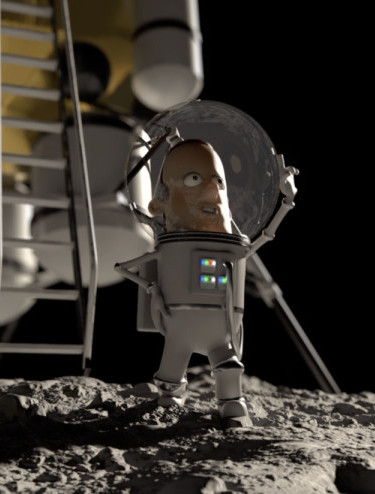 One giant leap for Neil