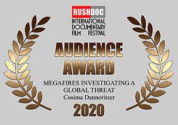 Audience Award RushDoc Fest 2020.001.jpe