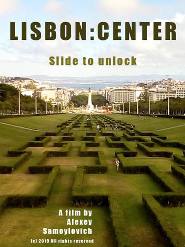 Lisbon center: slide to unlock