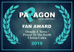Audience Award Paragon Film Festival 201