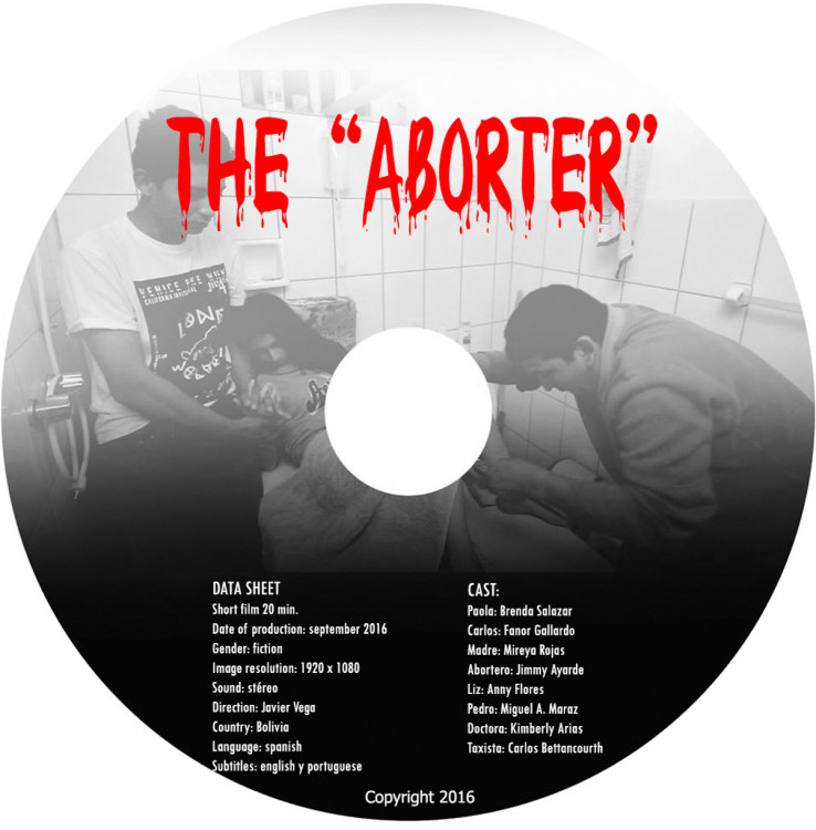 The aborter Poster