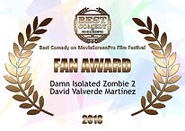Audience Award Best Comedy Fest 2 2018.0