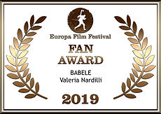 Audience Award Europa Film Festival 2019