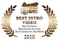 BEST INTRO VIDEO Award AliveDocFest 3.jp