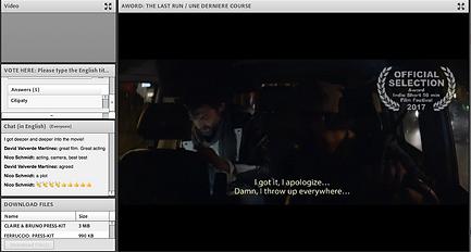 Filmmaker Event screenshot