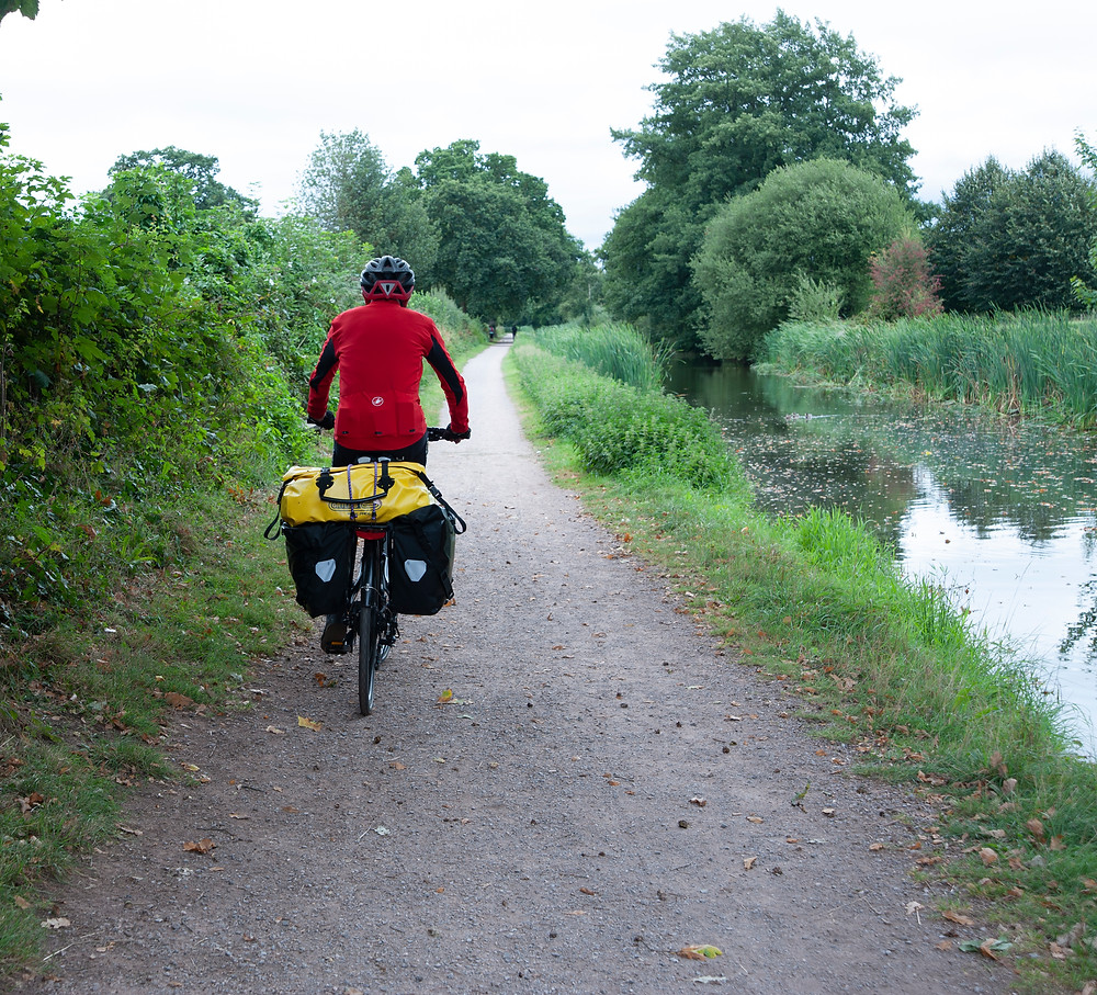 Bob on bike