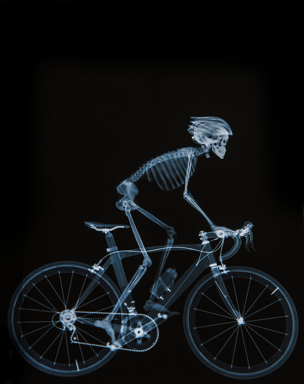 """Pedal Power"" by Nick Veasey"