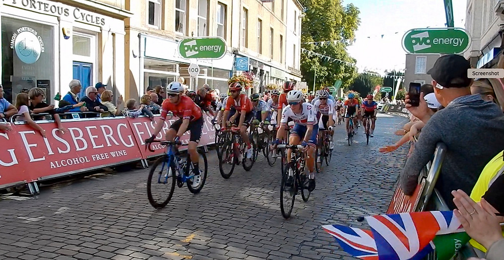 Tour Of Britain 2019:  At Kelso