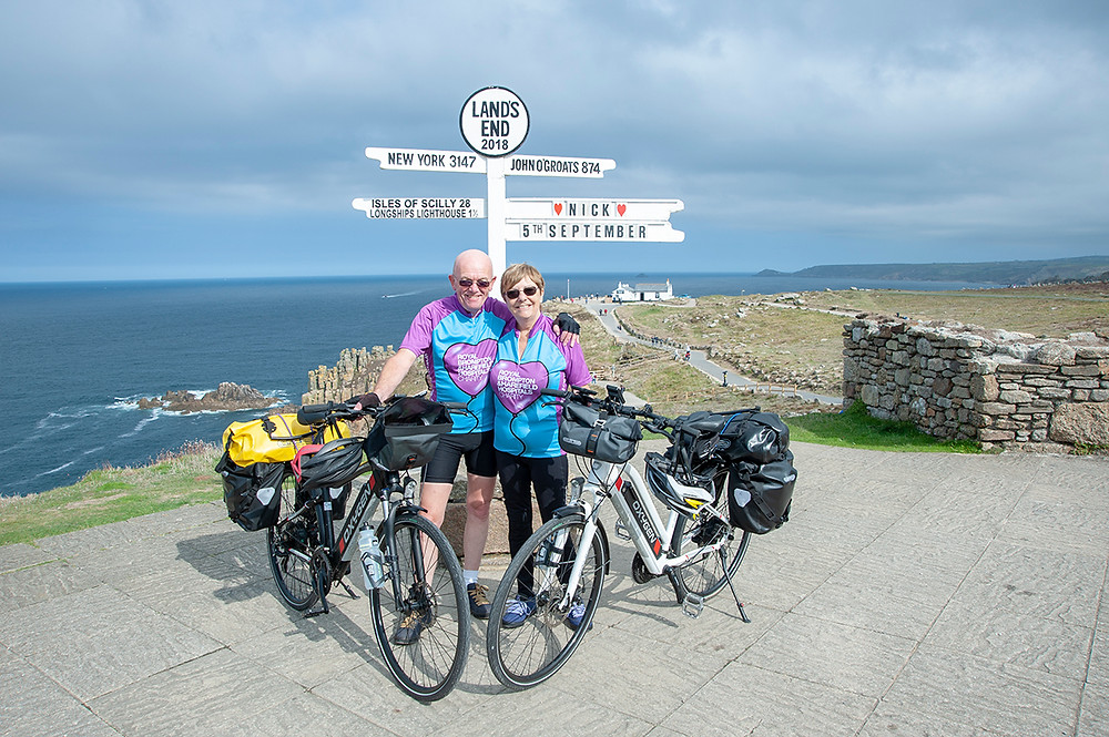 Annette & Bob at Lands End
