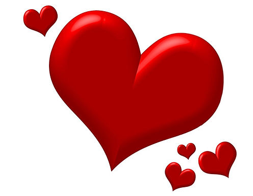 Red clip art heart