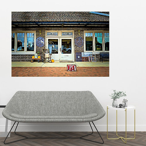 landscape pic stix alternative to wall art canvas