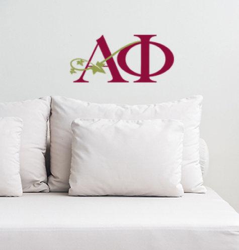 Alpha Phi Logo sorority decorations decals