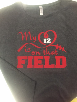 Heart On The Field Shirt