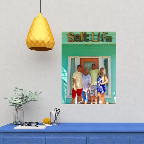 vacation pic stix alternative to wall art canvas