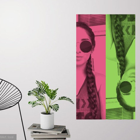 snap chat pic stix alternative to wall art canvas