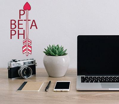 Pi Beta Phi Arrow Up Stix
