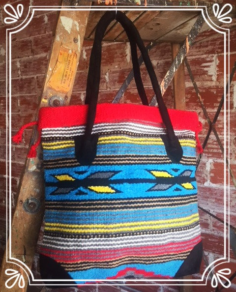 Gadabout Tote Red/Blue