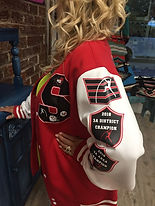 Squad Letter Jackets Customized