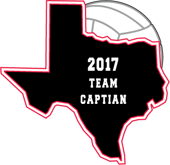 Volleyball Texas Patch