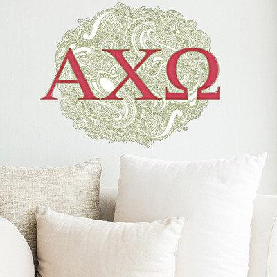 Alpha Chi Omega Logo sorority decorations decals