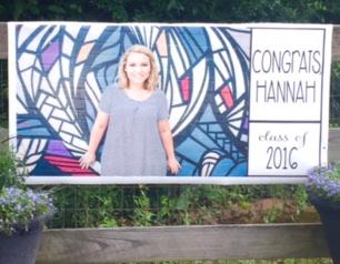 Ballyhoo Graduation Banner