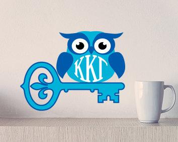 Kappa Kappa Gamma Key Owl Stix